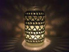 """Képtalálat a következőre: """"crochet tealight holder pattern"""""""