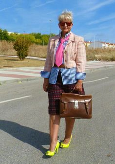 MIS PAPELICOS: Layering... My role model. My fashion hero.
