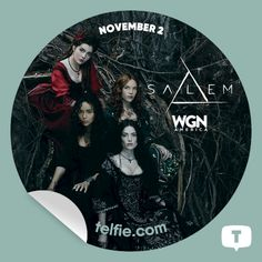 #SalemWGN: Coming Soon (4th Sticker)