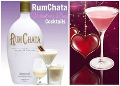 RumChata Lovers out there? Valentine's Day Drinks, Happy Hour Drinks, Bar Drinks, Cocktail Drinks, Yummy Drinks, Cocktail Recipes, Beverages, Rumchata Drinks, Rumchata Recipes