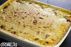 Lasaña de pollo (reposo) Salsa Bechamel, Sauce Béchamel, Pasta, Cheeseburger Chowder, Macaroni And Cheese, Soup, Cooking, Ethnic Recipes, Chicken Lasagna Recipes