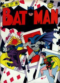 Fred Ray & Jerry Robinson | Batman #11 | DC | 1942