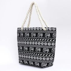 b40af1107d Multi-Color Striped Canvas Totes Shopping Bags with Large Capacity Bucket  Bags