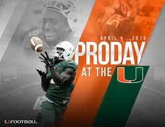 PRO DAY AT THE U on Behance