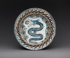 Plate with the Visconti arms Date: ca. Culture: Italian, probably Deruta Medium: Maiolica (tin-glazed earthenware) Dimensions: Overall (confirmed): H. x cm) Classification: Ceramics-Pottery Ceramic Pottery, Pottery Art, Painted Pottery, Delft, Alfa Romeo, Italian Renaissance Art, Italian Pottery, Victoria And Albert Museum, Pottery Painting