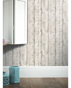White Washed Wood Wallpaper Arthouse 694700 for sale on Trade Me, New Zealand's auction and classifieds website Wood Effect Wallpaper, Look Wallpaper, Paper Wallpaper, Wood Planks, Wood Paneling, Rustic Feel, Rustic Wood, Feature Wallpaper Living Room, Wall Behind Bed