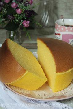 棉花蛋糕(炼奶)