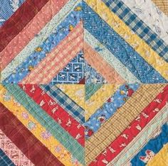 "pattern for 36"" x 48"" quilt --just about right for a baby quilt"