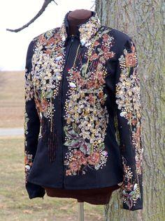 Sittin Pretty Show Clothing 2014 Showmanship, Western Pleasure, Western Riding, or Trail jacket!  Find us on Facebook!!