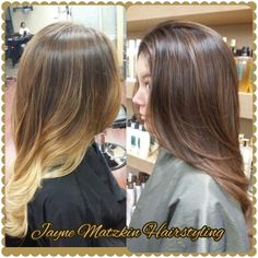 It was time to richen it up.  Last summer's ombre becomes rich and chocolaty.  This service required a weave to bring the dimension up to the top, and a glaze to add the chocolate tones.  Complimentary consultations are available as my last appointment of the day. #jaynematzkinhairstyling #PersonneCompletSalon #LosAngeles #Olaplex #haircolorists @jaynematzkinhairstyling on instagram