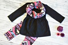 Aztec Pant Set:  an adorable cool weather look from $12.60!