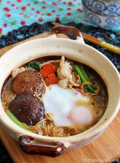 I made this simple braised yee mee for lunch today, something I haven& eaten in a long time. I had forgotten how good these noodles tast. Claypot Recipes, Soup Recipes, Cooking Recipes, Yummy Recipes, Asian Noodle Recipes, Asian Recipes, Ethnic Recipes, Chinese Recipes, Chinese Food
