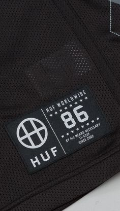 HUF MESH COLLECTION WOVEN LABEL INSPIRED