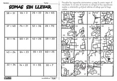 figuras para colorear resolviendo operaciones - Google Search English Activities, Math Activities, Kids Education, Special Education, First Grade, Second Grade, Math 4 Kids, Occupational Therapy Activities, Math Class