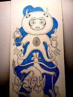 #creatures Illustration, Art, Image, Humanoid Sketch