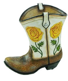 Take a look at this Rose Boot Vase today!
