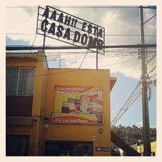 Casa Domb (por Pato Pérez). Publicidad vintage. Broadway Shows, Signs, Home, Advertising, Novelty Signs, Signage, Dishes, Sign