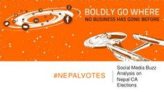 Social Media Buzz Analysis on Nepal CA Elections 2013