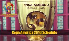 Copa America 2016 fixture & Schedule IST: Full schedule of South American football tournament in IST groups & time table