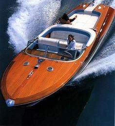 Riva Aquarama are on some #SuperYachts as tender ~ only the very best of course! - Seatech Marine Products & Daily Watermakers