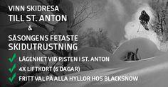 Vinn skidresa till St. Anton och skidutrustning för 4 pers