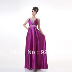 Aliexpress.com : Buy Long Design Satin High Quality Evening Dresses from Reliable bridesmaid dress evening dress suppliers on HONEYSTORE CO., LIMITED. $167.99