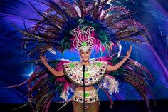 National custom miss Colombia at Miss Universe 2015