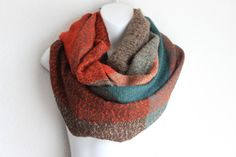 Bohemian Cozy Knit blanket scarf. This Plaid frilly scarf is so soft to touch and Cozy. With its Extra wide design and Plaid woven pattern,