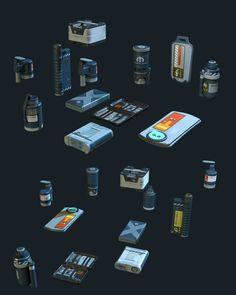 ArtStation - Hard Surface Asset Dump 02, Tyler Smith