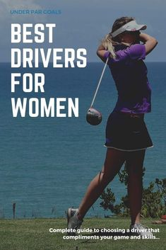 Women golfers need clubs designed for them and their swing. This golf equipment guide will show you the best drivers and give you tips on how to choose the right one, even if you are a beginner. Golf Drivers, New Drivers, Golf Clubs For Beginners, Golf Books, Golf Tips Driving, Golf Putting Tips, Best Golf Courses, Golf Instruction, Club Design