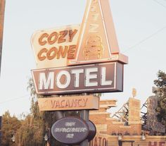 Any one need a cozy cone?  #Disney #Disneyland #Carsland #cars #cozycone #cozyconemotel #disneyside #disneygram #disneyparks #disneycaliforniaadventure #disneyphoto #disneycars #disneyside #californiaadventure by madmouse7
