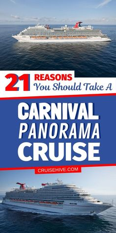 Everything to know and things to do on the Carnival Panorama cruise ship operated by Carnival Cruise Line. #cruisehive #cruise #cruises #carnivalcruise #cruiseship #cruisetips