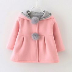 LIKESIDE Girls Boys Kid Baby Outwear Leather Coat Short Jacket Windproof Clothes