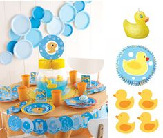 rubber duck birthday ideas   ... rubber ducky cupcakes and even top your cake with a duck shaped candle