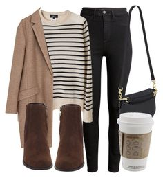 Untitled #4819 by laurenmboot on Polyvore featuring polyvore, fashion, style, A.P.C., Zara, H&M and Mulberry