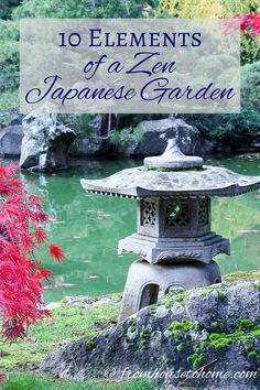 View All of Want to create a relaxing spot in your garden but need some inspiration to get going? Find out the 10 must-have elements of a zen Japanese garden. Zen Japanese Garden For…More Asian Garden, Japanese Garden Backyard, Japanese Garden Landscape, Small Japanese Garden, Japanese Tea House, Japanese Garden Design, Japanese Gardens, Zen Gardens, Japanese Garden Lanterns