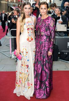 Amber Le Bon & Yasmin Le Bon In Temperley London – 2014 GQ Men of the Year Awards
