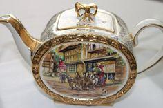 Antique Vintage Sadler Teapot English Teapot by TeaAttheBrits,