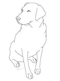 Image Result For Simple Drawing Of Labrador Drawing Image