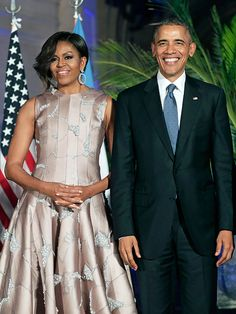 President Obama with First Lady Michele at the Kitchner Cultural Center in Buenos Aires, Argentina.