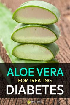 7 Reasons To Use Aloe Vera For Treating Diabetes