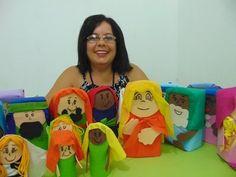 HISTÓRIA BÍBLICA CRIANÇAS VÃO ATÉ JESUS- Aleyr Azeredo Children, Kids, Youtube, Lunch Box, Toddler Arts And Crafts, Sunday School, Puppet, Bible, Young Children