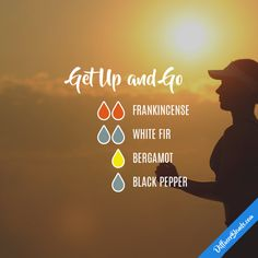 Get Up and Go - Essential Oil Diffuser Blend