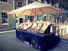 street stall Street Vendor, Wander, Traveling, Kitchen Appliances, Tea, Outdoor Decor, Wall, Crafts, Home
