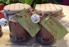 Preparato per cioccolata calda http://sognoepassione.blogspot.it/2014/12/preparato-per-cioccolata-calda.html