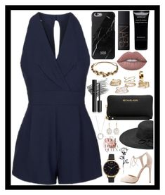 """Classy and fabulous!"" by rhiannonpsayer ❤ liked on Polyvore featuring Topshop, Native Union, NARS Cosmetics, Givenchy, Lime Crime, Bobbi Brown Cosmetics, Michael Kors, Chanel, Fits and Jennifer Behr"