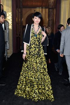 Lanvin : Front Row - Paris Fashion Week Womenswear Spring/Summer 2016