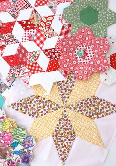 MessyJesse: English Paper Piecing Basics: Week 1 // A Little History, Supplies