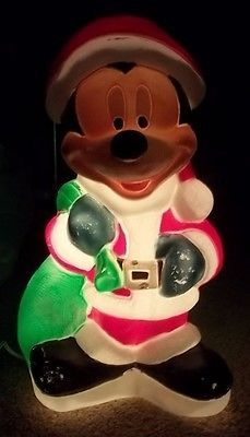 Vintage Christmas Mickey Mouse Empire Blow Mold on Etsy, $28.00 ...