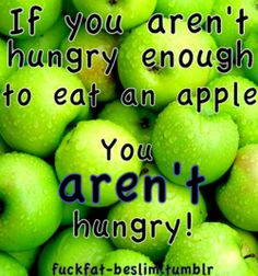 Apples and Water!